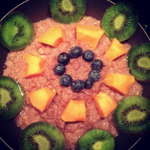 Himbeer Porridge